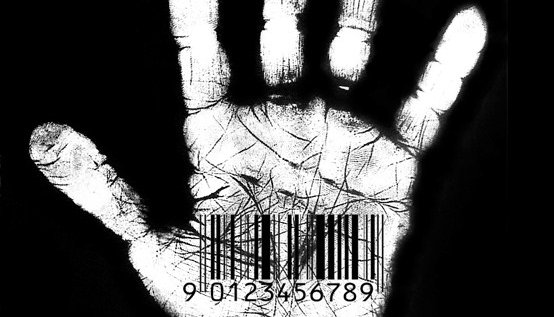 handprint with numbers in palm